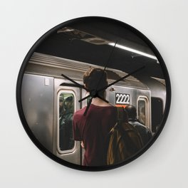 Daily Commute Wall Clock