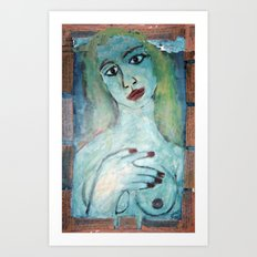 POETIC VENUS Art Print
