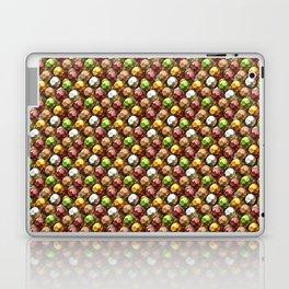 Metallic Beads Pattern Laptop & iPad Skin