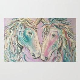 Unicorn Forever Friendship Rug
