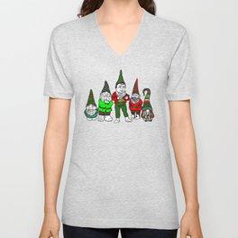 Gang of Gnomes Unisex V-Neck