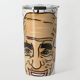 Shimon Peres Travel Mug