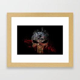 The punish Framed Art Print