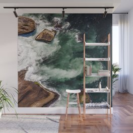 The Dynamics of Water Wall Mural