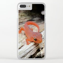 The Charismatic Newt Clear iPhone Case