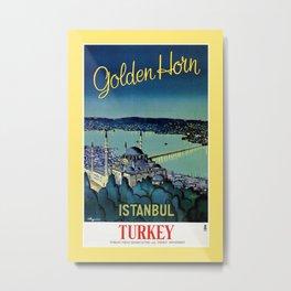 Golden Horn Istanbul Metal Print