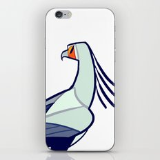 SECRETARY BIRD iPhone & iPod Skin