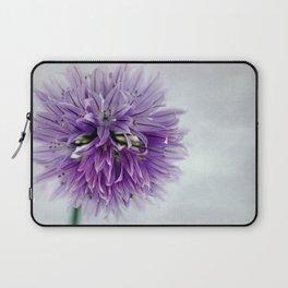 chives bloom Laptop Sleeve