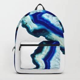 Inkdrop Agate slice Backpack