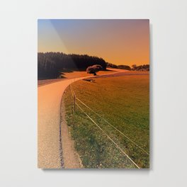 Hiking trip in summer time | landscape photography Metal Print