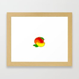 Mango Heart Framed Art Print