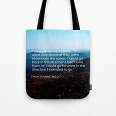 Go Forward Tote Bag