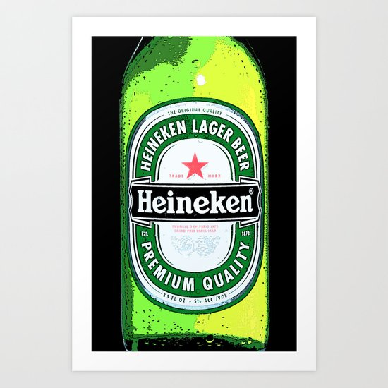 HEINEKEN for IPhone Art Print