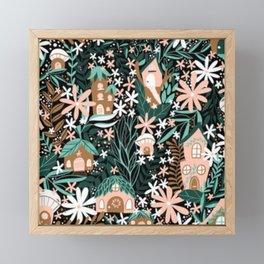 Fairy Village Framed Mini Art Print