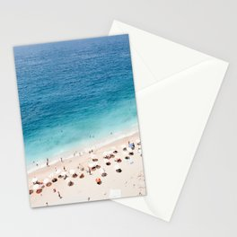 Areal Beach Photography Stationery Cards