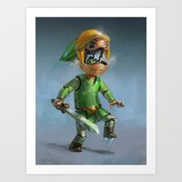 Link to the Future Art Print