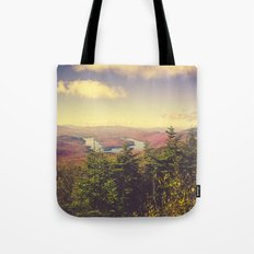 Endless Mountains Forever Wild Tote Bag