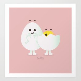 Little Eggs Art Print