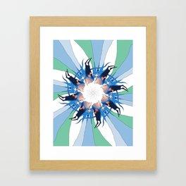 """"""" The flies """" Framed Art Print"""