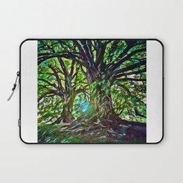 Bur Oak Canopy Dream | Painting  Laptop Sleeve