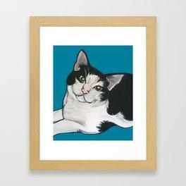 "Achilles the ""Cat From Hell"" Framed Art Print"