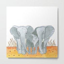 Noah's Ark - Elephant Metal Print
