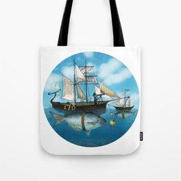 Sea Journey Tote Bag