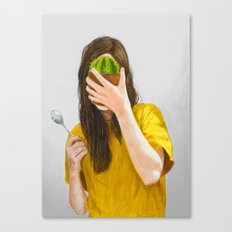 You're not mad enough Canvas Print