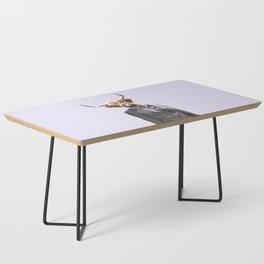 Cow Girl Coffee Table