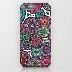 Psychedelic Flowers iPhone 6s Slim Case