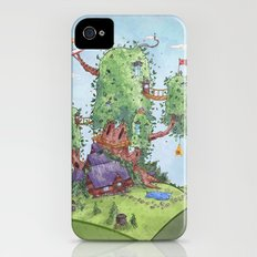 Ode to Finn and Jake Slim Case iPhone (4, 4s)