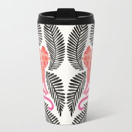 Monkey Cuddles – Pink & Black Palette Travel Mug