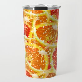 Snow citrus Travel Mug
