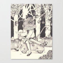 Sally Forth Canvas Print