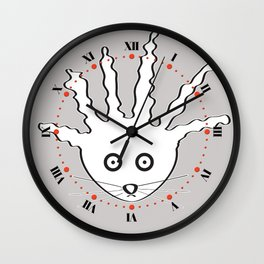 Fur - Really People? Wall Clock