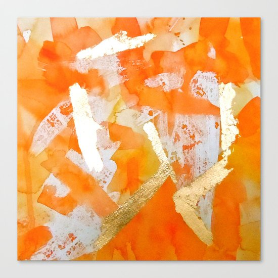 Tangerine Tango Canvas Print