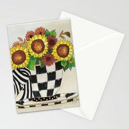 Sunflower Tea Stationery Cards