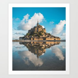Mont Saint Michel Art Print