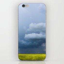rain is coming iPhone Skin