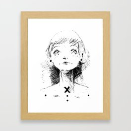2017 Collection • Post Rock Sette Framed Art Print