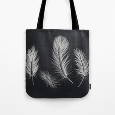 Chalk feather collection Tote Bag