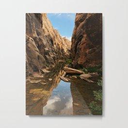 East Clear Creek Hike Metal Print