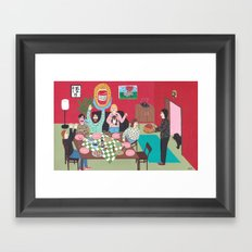 Salsa Exvoto Framed Art Print