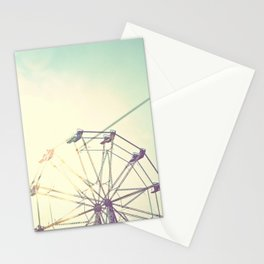 retro ferriswheel Stationery Cards