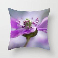 Hepatica Throw Pillow