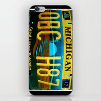 michigan iPhone & iPod Skins featuring Michigan by Vivian Fortunato