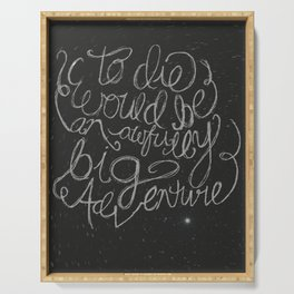 Peter Pan Quote Serving Tray