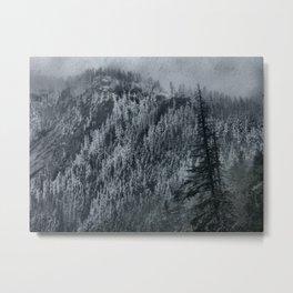 Mountain Slope Metal Print