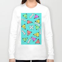 triangle Long Sleeve T-shirts featuring Triangle by Jimmy Kid
