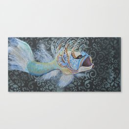 The Party Fish Canvas Print
